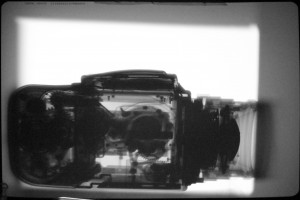 Xray of a Hasselblad 500