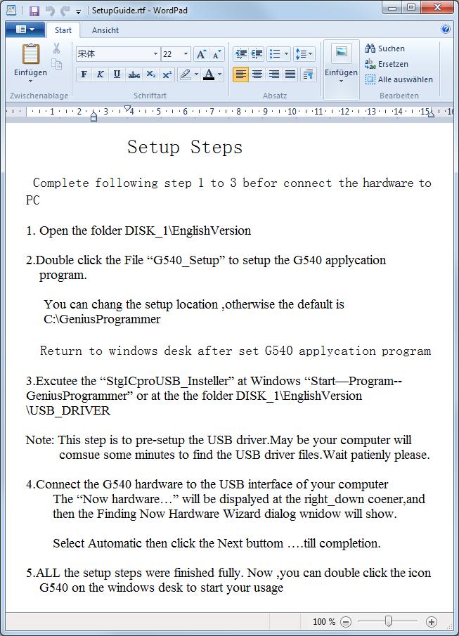 G540 Universal Programmer Software Download
