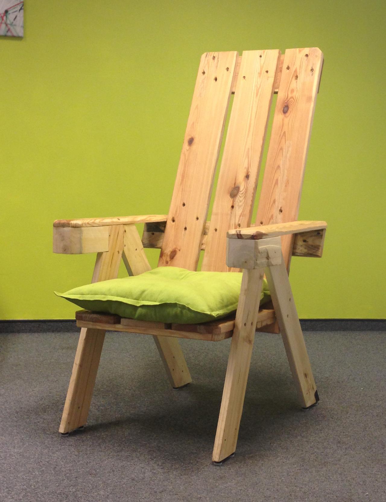 Кресло из паллет своими руками